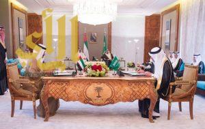 المملكة والإمارات توقعان محضر إنشاء مجلس التنسيق السعودي الإماراتي