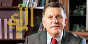رئيس حكومة الوفاق الليبي يصل جدة