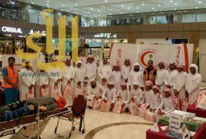 هلال الباحة يحتفل بيومه العالمي الثامن من مايو 2016 بعدة أنشطة