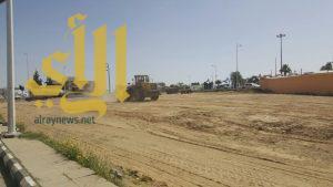 بلدية النماص تنقل سوق المعدات والبناء حتى إكتمال مشروع السوق الجديد