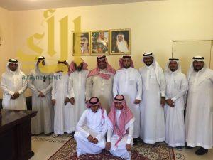 أعضاء المجلس البلدي بمركز الشواق يقومون بجولة ميدانية على المشاريع الخدمية