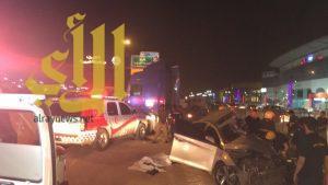 ثلاث وفيات بحادث عائلة على مخرج 16 بالرياض