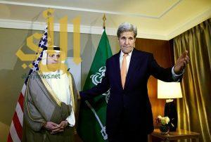 الجبير يبحث مع كيري الجهود الدولية لتثبيت وقف إطلاق النار في سوريا