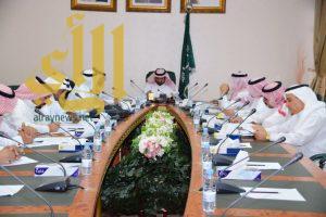 وكيل إمارة الباحة يرأس إجتماع اللجنة الإشرافية العليا لمهرجان صيف الباحة 1437هـ