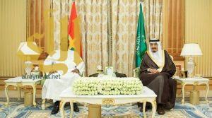 خادم الحرمين ورئيس بوركينا فاسو يعقدان جلسة مباحثات