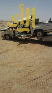 4 وفيات وإصابتين بحادث سير جنوب منطقة القصيم