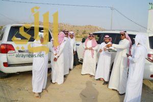 رئيس المجلس البلدي ورئيس بلدية المجاردة يتفقدان احتياجات مركز أحد ثربان