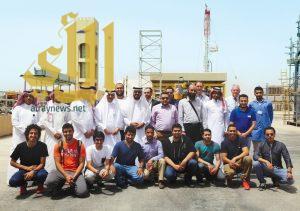 25 طالب هندسة يطلعون على آلية التدريب في المعهد التقني السعودي