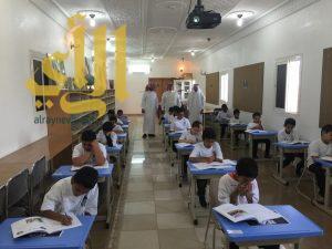 """98 طالباً يؤدون اختبارات """" pirls2016 """"  الدولية بعسير"""