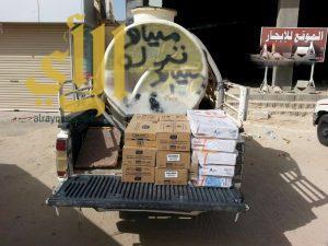 بلدية الذيبية تغلق مطعم مخالف وتصادر سيارة تقوم بنقل الأطعمة بشكل مخالف