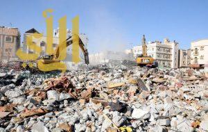 بلدية محافظة الخبر تزيل 8 مباني مهجورة وآيلة للسقوط