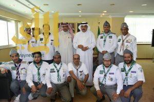 تكريم القادة المتميزين في النشاط الكشفي بتعليم تبوك