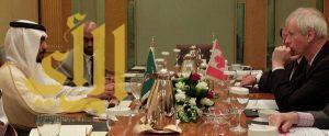 مشرف الجمعية الوطنية لحقوق الإنسان بمكة المكرمة يلتقي بوزير الخارجية الكندي