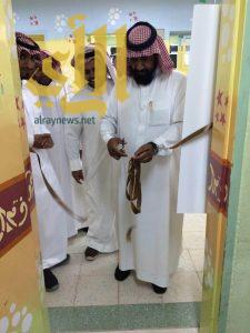 ثانوية الملك سعود بالمضة تُطلق معرض التوعية الإسلامية