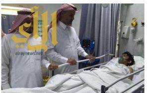حادث مروري يتسبب بإصابة عدد من الطلاب بمنطقة نجران