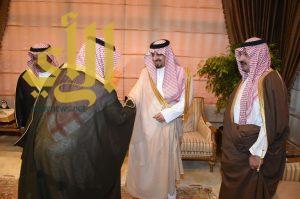 أمير عسير يستقبل الأمير تركي بن طلال