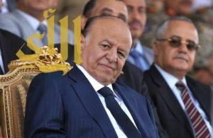 الرئيس اليمني: انتصرنا في معركة الوجود بمساندة التحالف العربي