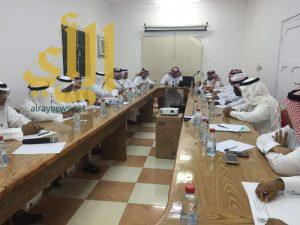 تعليم محافظة اضم يستعرض الخطط التربوية واستعدادات الإختبارات