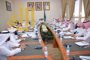 وكيل إمارة الباحة يترأس إجتماع فريق التطوير بالإمارة
