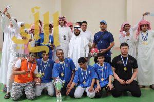 ثانوية عثمان بن ابي العاص تختتم انشطتها الرياضية
