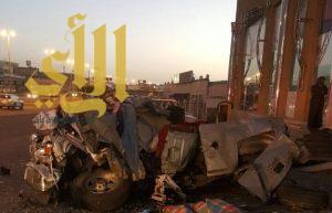 ثلاث وفيات واصابة حرجة بحادث مروري على طريق ابها خميس مشيط