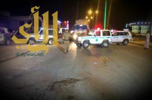 مصرع رجلي أمن إثر حادث مروري في عفيف