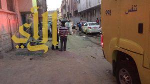 بركة للصرف الصحي تبتلع شخصين على طريق الحجاز بالرياض