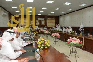 اللجنة الصحية الاجتماعية بعسير تزور محافظة محايل