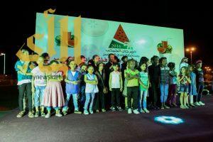 """"""" مسرح الطفل """" يجذب زوار مهرجان الحبحب الرابع بوادي الدواسر"""