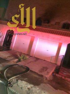 إختناق أربعة أشخاص بحريق منزلهم على طريق بلال بالرياض