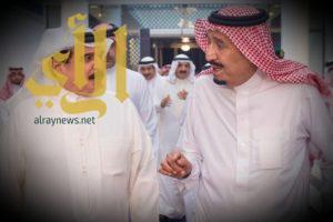 الملك سلمان يستقبل ملك مملكة البحرين ويقيم مأدبة عشاء تكريما له