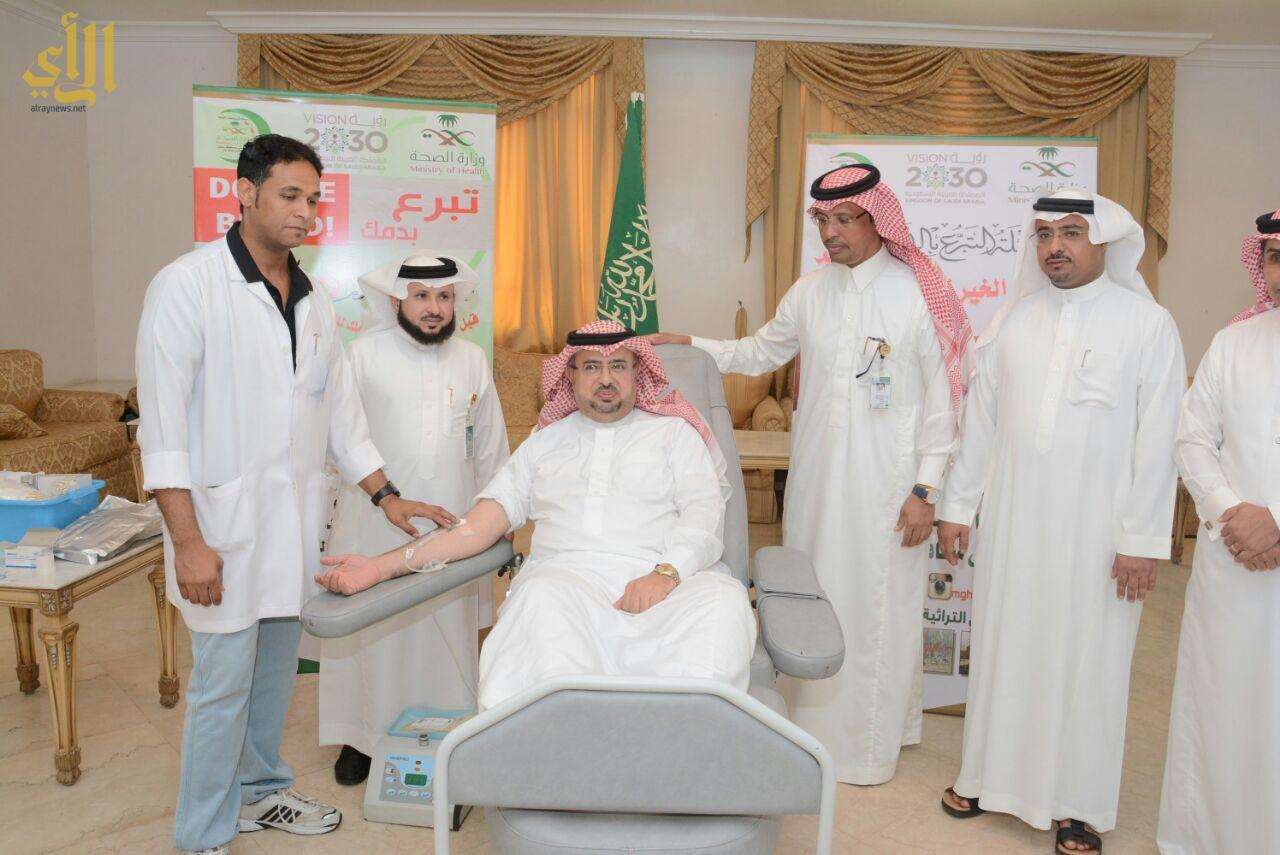 حملة التبرع بالدم للأطفال محاربي السرطان بعنوان ( خفف دمك وتبرع) ويستمر 3  أيام , وذلك في مقر المركز بالرياض.