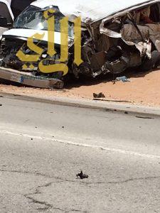 مصرع 4 معلمات وإصابة أخريات بحادث سير في عنيزة