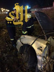 ثلاثة إصابات بحادث إنقلاب مركبة بمحافظة المخواه