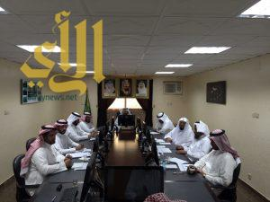 المجلس البلدي ببلقرن يجتمع بالمقاولين ويقف على المشاريع  ميدانياً