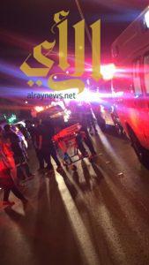 7 حالات إصابة لحريق بشقة سكنية بالرياض