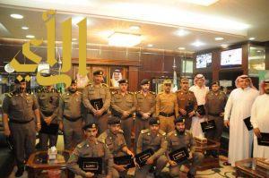 """""""قحاط"""" يكرم عددا من ضباط وأفراد وموظفين شرطة منطقة الجوف"""