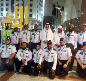 رئيس جمعية الكشافة يثني على جهود الكشافة في خدمة زوار المسجد النبوي