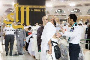 1000 كشاف يشاركون في خدمة المعتمرين وزوار المسجد الحرام
