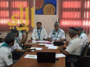 بدء أعمال اجتماع لجنة تنمية العضوية بجمعية الكشافة