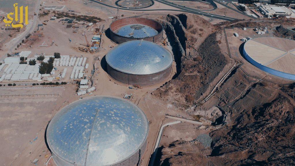 مكة المكرمة الخزن الاستراتيجي - المرحلة الأولى - 2 مليون متر مكعب