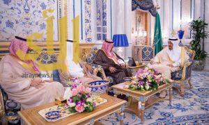 خادم الحرمين الشريفين يدشن مؤسسة الملك سعود رحمه الله
