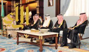 أمير الباحة يستقبل وكيل وزارة البيئة والمياه لشؤون المديريات
