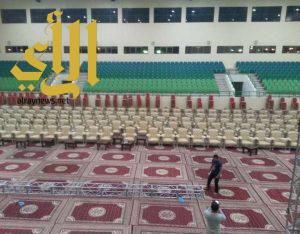 استعدادات لحفل العيد بمحافظة وادي الدواسر