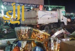 إحباط بيع 5 أطنان من المواد الغذائية منتهية الصلاحية في جدة