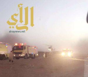مصرع 15 شخص بحادث مروري بالرياض و طائرتان من الإسعاف تباشر الموقع