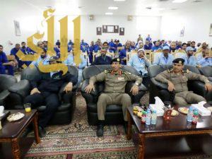 المعهد المهني الصناعي يقيم حفل تخرج لـ 79 نزيل من نزلاء سجن أبها العام