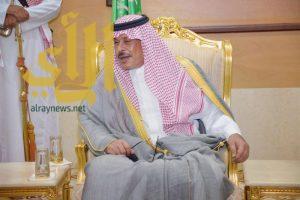 أمير منطقة الباحة يستقبل رئيس مجلس إدارة نادي العين الرياضي بالقرى