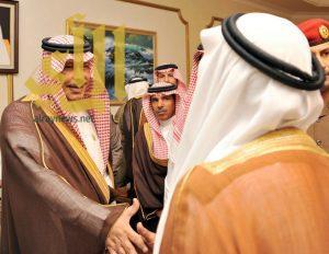 أمير الباحة يستقبل المهنئين بالشهر الكريم بقصر البريدة