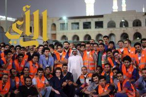 1300 متطوع ومتطوعة يساندون الهلال الأحمر بالمدينة المنورة
